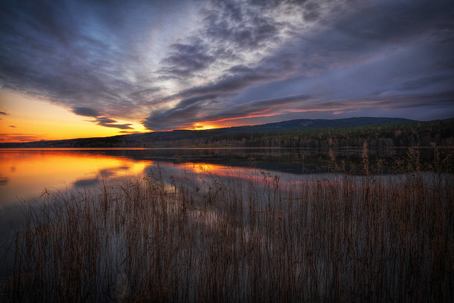 Värmland - Blaue Stunde am Grängen