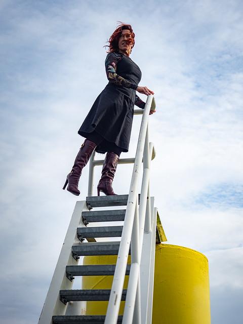 Vanessa, Amsterdam 2021: On top of the world