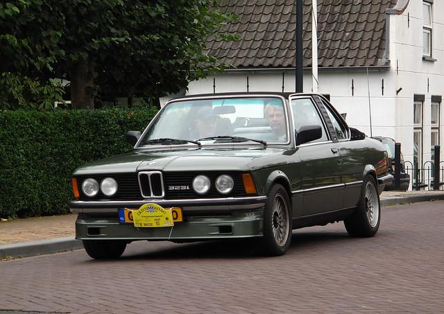 1982 BMW 323i Baur Cabriolet (E21)