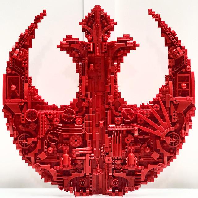 Rebel Starbird Crest