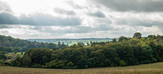 View from the climb up to Bosmore Farm