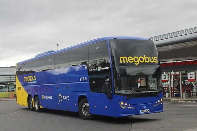 Megabus 54213 / YX63 NGY
