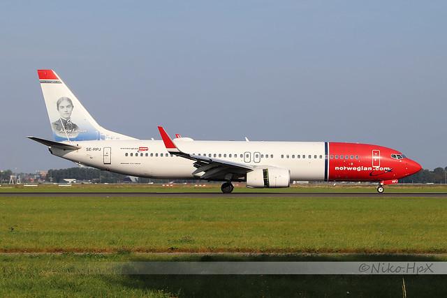 Boeing 737-8JP Norwegian Air Sweden SE-RP