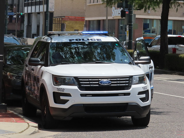 Tulane University Police Ford Police Interceptor Utility