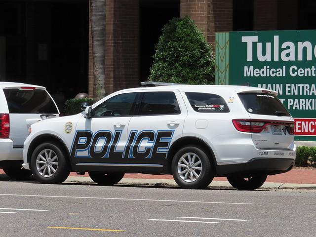 Tulane University Police Dodge Durango
