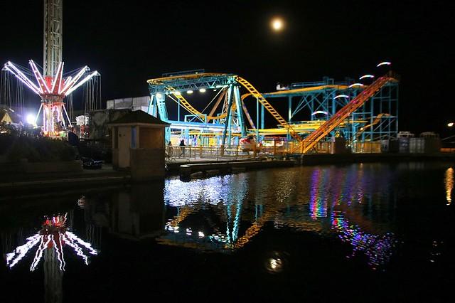 Hastings Fun Fair @ Night