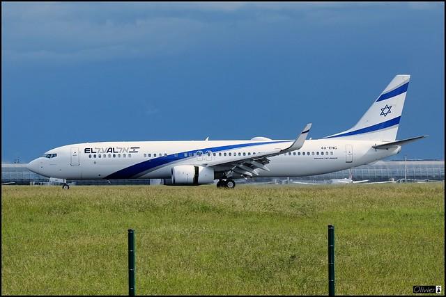 Boeing 737-958(ER), El Al,  4X-EHC