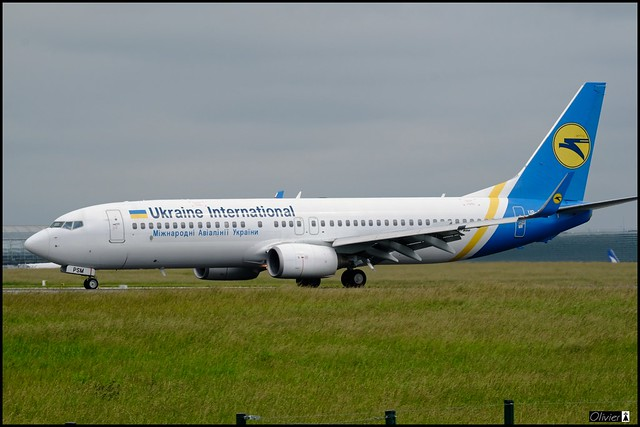 Boeing 737-8FZ(WL), Ukraine International Airlines, UR-PSM