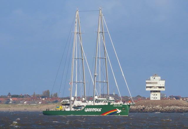 Greenpeace Yacht Rainbow Warrior