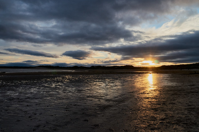 Sunset at Beadnell Bay