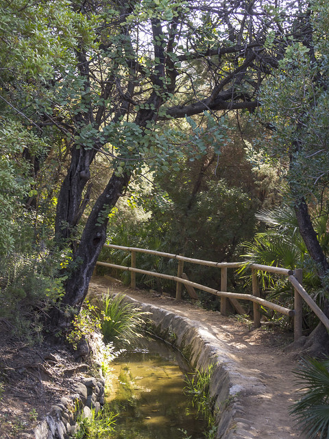 Spain - Malaga - Benahavis - Acequia del Guadalmina Footpath
