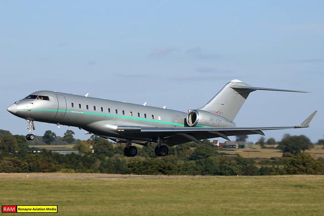 9H-VTE | Bombardier BD700 Global 6000 | VistaJet
