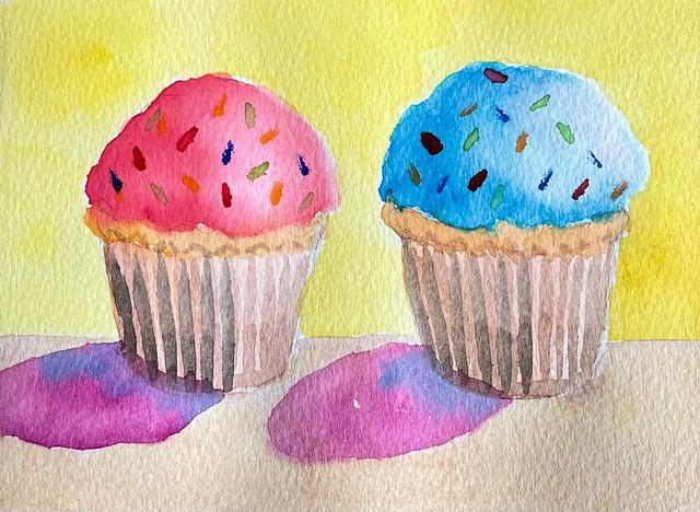 010 Twin cupcakes