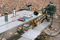 Coffeeneuring 2021, Ride 2: Stumptown on Belmont/Laurelhurst Park. 21 Oct 2021