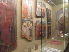 Fragments of paintings,  Diocesan Museum, Calahorra Cathedral, Calahorra, La  Rioja, Spain