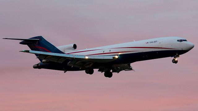 N727US Boeing 727-223 USA Jet