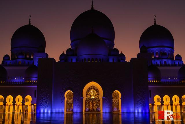 Abu Dhabi (UAE), Gran Moschea dello Sceicco Zayed