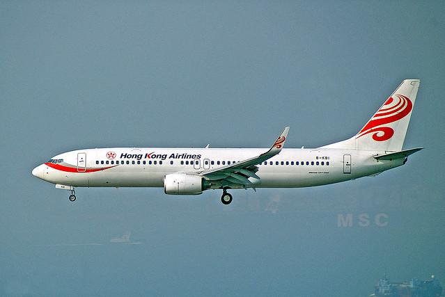 B-KBI   Boeing 737-808 [34709] (Hong Kong Airlines) Hong Kong Int'l~B 23/11/2009