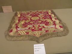 Cape from liturgical robes, Los Santos Martires,   Diocesan Museum, Calahorra Cathedral, Calahorra, La  Rioja, Spain