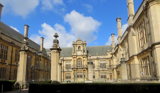Les collèges, Oxford, Oxfordshire, Angleterre, Royaume-Uni.