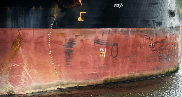 Hull Markings--Tanker