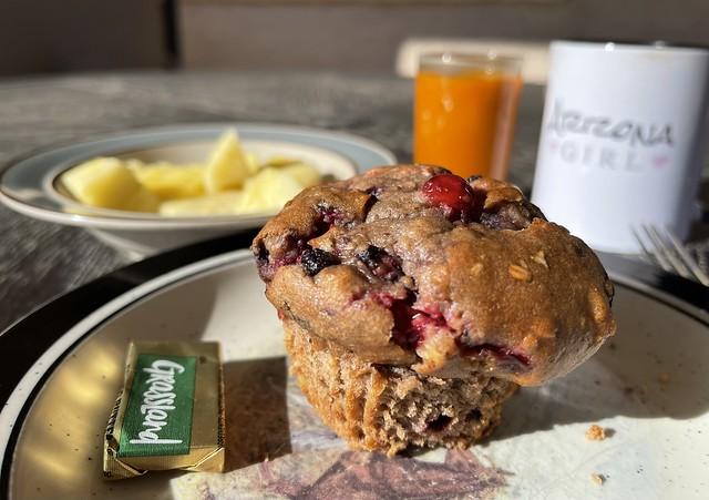 Muffin Patio Breakfast