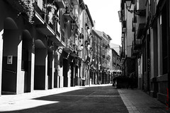 A street in Zaragoza