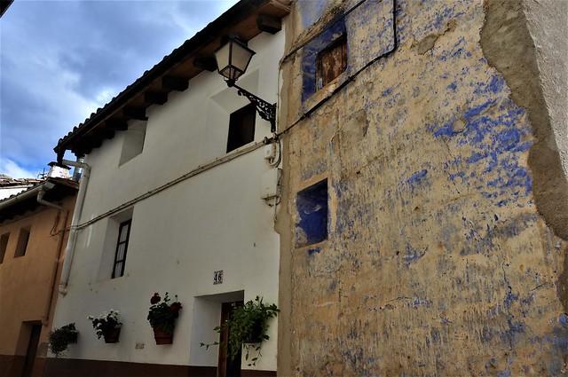 viejas fachadas-PEÑARROYA DE TASTAVINS-Castellón