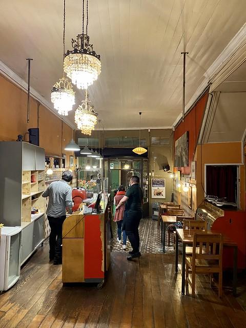 Café Vinilo. Cerro Alegre, Valparaíso