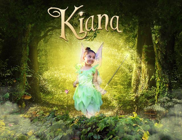 Kiana as Tinker Bell Poster
