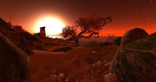 Coastal sunrise 2