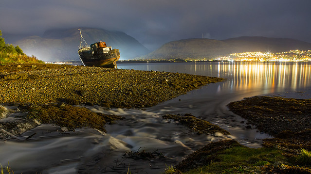 Ben Nevis and the Shipwreck