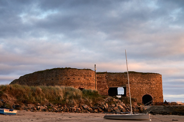 Lime Kilns at Beadnell