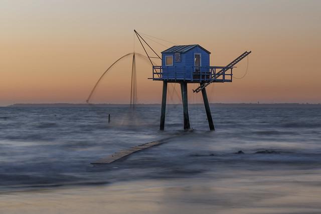 Carrelet -Tharon plage