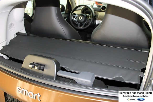 original OEM Smart ForTwo 453 Luggage compartment cover