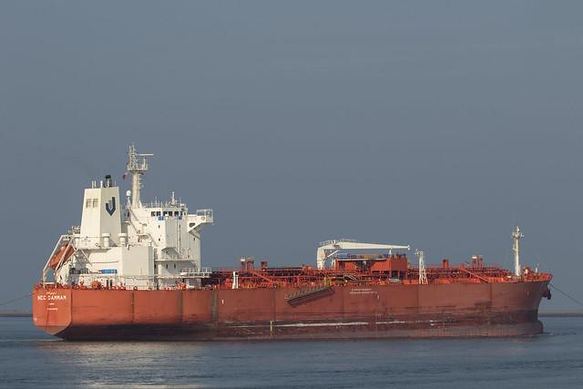 NCC DAMMAM  Oil/Chemical Tanker - Beerkanaal - Maasvlakte
