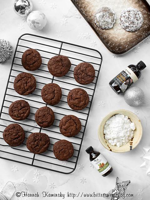Chocolate Pfeffernüsse - Baked