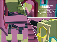 Violetility - Squid Stairs Maze Prize