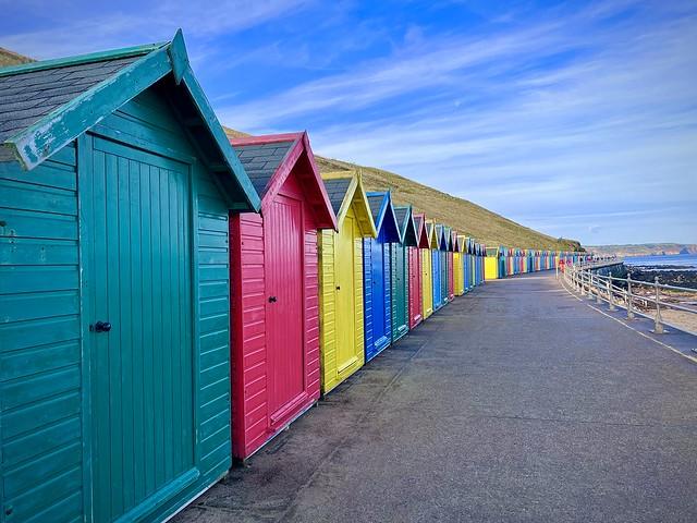 Beach huts!
