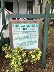 The Gardner House Sign