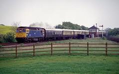 33028 at Bearley Juction. 22 May 1987