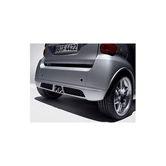 Smart ForTwo 451 Brabus Rear Valance Kit For Twin Exit Exhaust