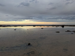 Sunset over the rockpools