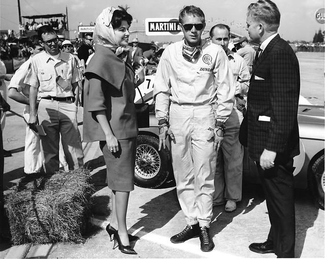 1962 Sebring - Steve McQueen and Miss Sebring