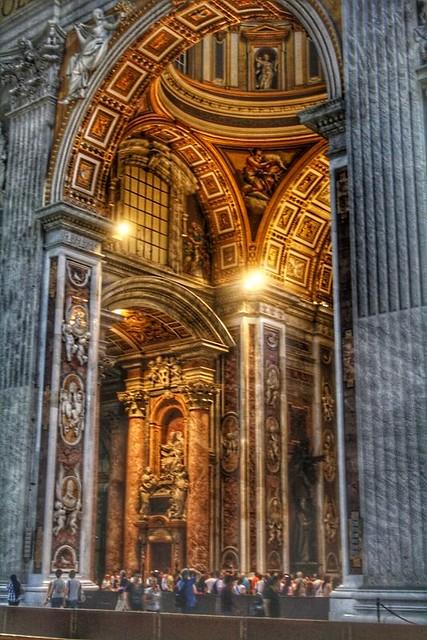 St Peters basilica Rome Vatican city