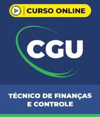 Curso CGU – Técnico de Finanças e Controle