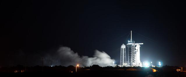 SpaceX Crew-3 Static Fire (NHQ202110280002)