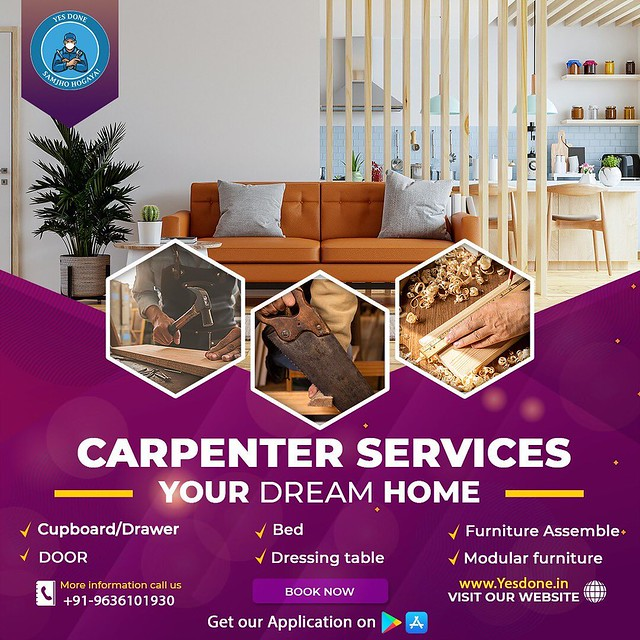 Yes Done for Carpentry Services