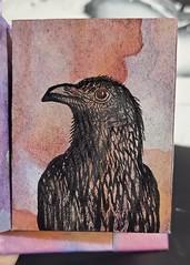 Raven; Mini Inktober Sketchbook