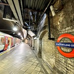 Great Portland Street Underground Station, London, UK 2021.